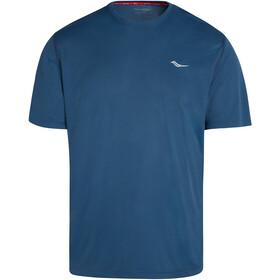 saucony Stopwatch Short Sleeve Men, azul